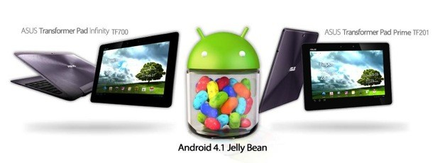 ASUS teases Jelly Bean update coming to Transformer Pad Prime and Infinity 'soon'