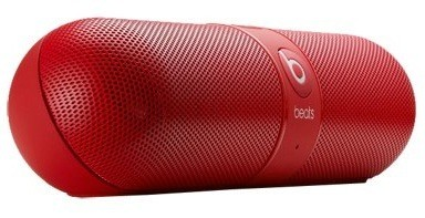 Beats Pill Bluetooth speaker spotted at FCC and HMV take one and call Dr Dre in the morning