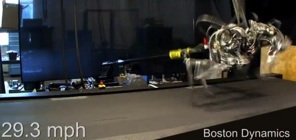 Boston Dynamics' Cheetah robot will hunt you down faster than any person video