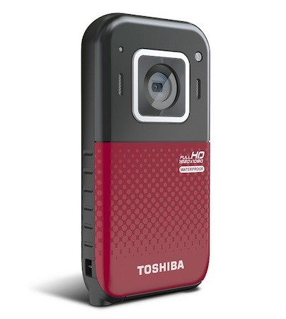 Toshiba intros waterproof Camileo BW20 camcorder, available now for $130