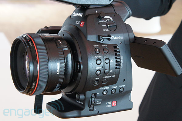 Canon Cinema EOS C100 handson