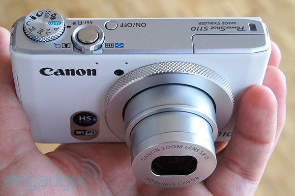 Canon PowerShot S110 handson video