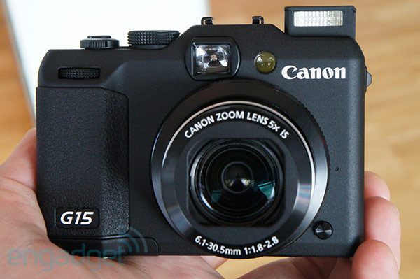 Canon PowerShot G15 features f1828 lens and DSLRlike controls, we go handson video