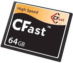 CompactFlash Association announces CFast20 spec, SanDisk begins development of cards