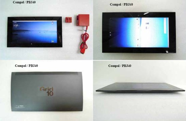Fusion Garage's Grid 10 just won't die, outed by Taiwanese database as Compal's Smart Pad PBJ40