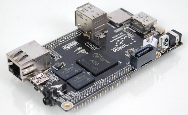 The $  49 Cubieboard for developers is heavy on specs, light on the wallet