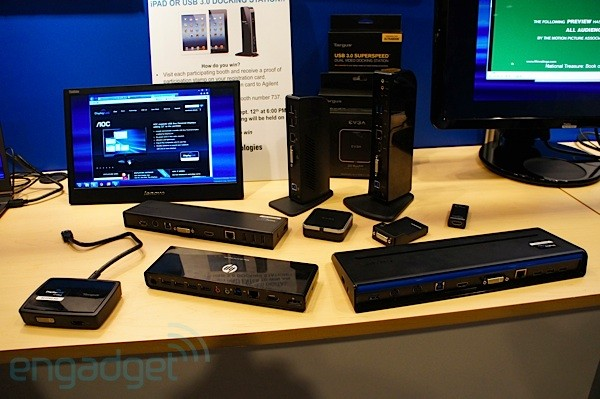 DisplayLink shows off new gear from HP, Lenovo, EVGA and Targus at IDF 2012