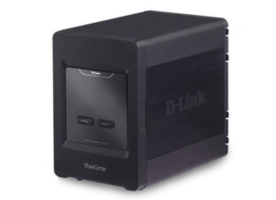 DLink Cloud Storage 4000 NAS stores up 16TB, hooks up to your smartphone and tablet