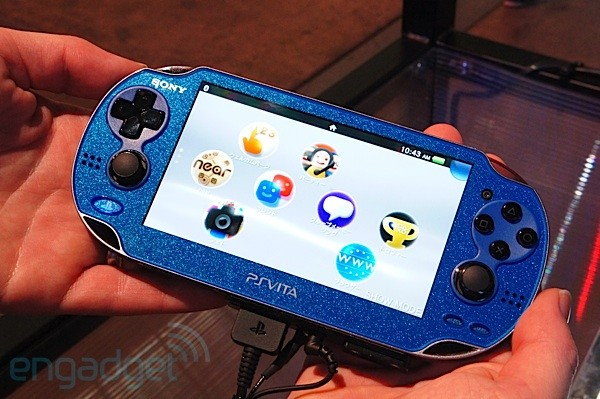 Sony PlayStation Vita Sapphire Blue handson video