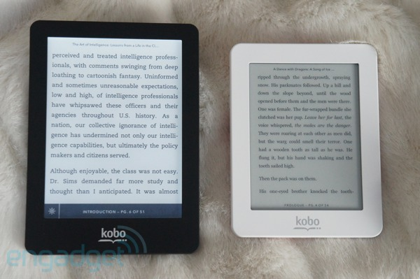 Handson with Kobo's Glo and Mini ereaders video