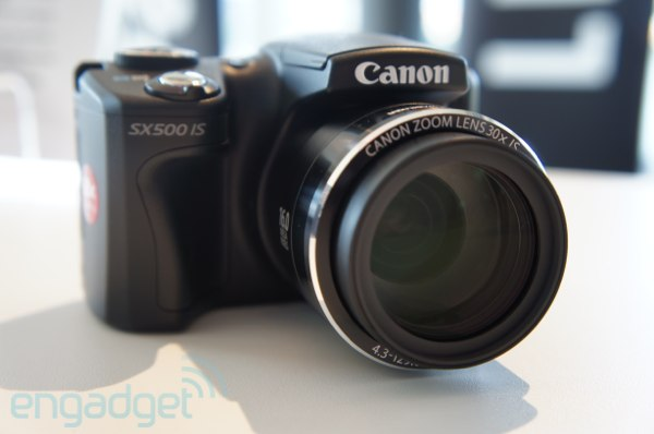 Canon PowerShot SX500 IS handson
