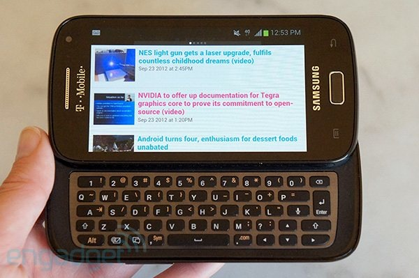 DNP  Samsung Galaxy S Relay 4G review TMobile's QWERTY slider falls flat