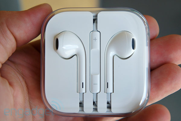 Apple EarPods handson