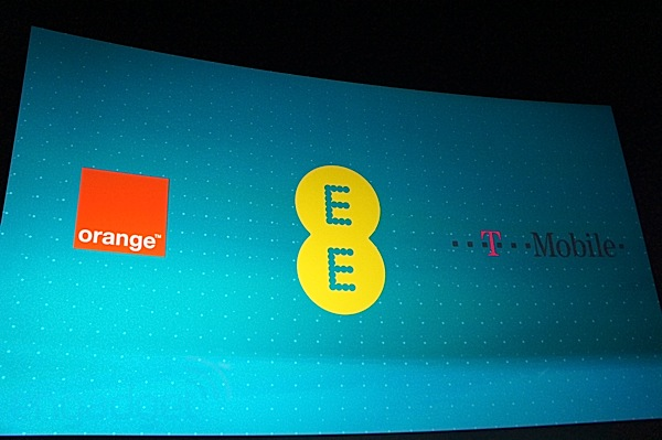 Everything Everywhere announces the UK's first major LTE service, EE combines Orange and TMobile networks