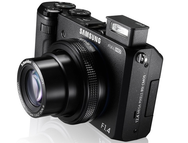 Samsung's Smart EX2F pointandshoot now on sale for $500