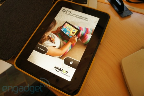 Amazon Kindle Fire HD 7-inch with ads