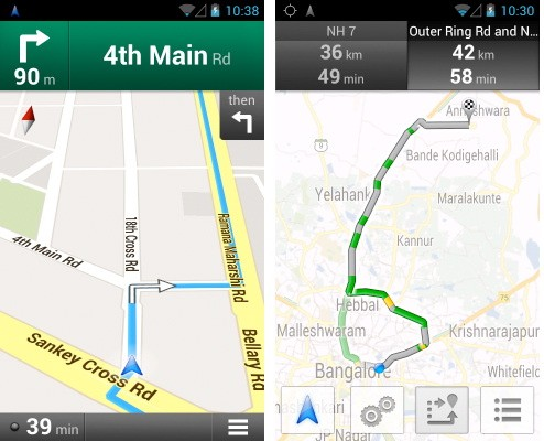 Navigation, Traffic Data comes to Google Maps in India