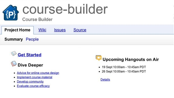 Google releases Course Builder, takes online learning down an opensource road