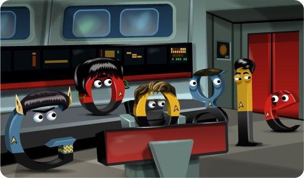 Google pays homage to Star Trek with latest doodle,