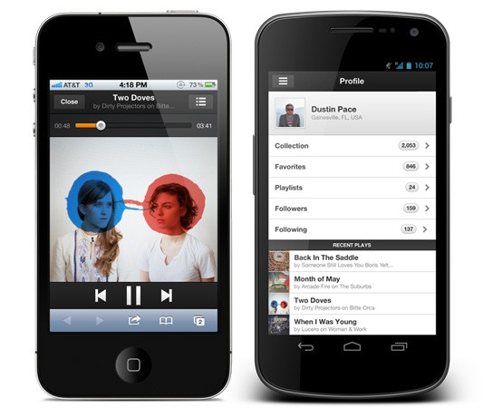 Grooveshark circles back again, swaps app for HTML5