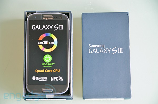 Engadget UK Giveaway win a Samsung Galaxy S III courtesy of Expansys!