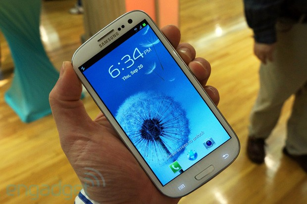 Samsung Galaxy S III for MetroPCS handson video