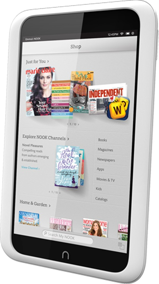 Barnes & Noble Nook HD, HD vs Nook Tablet what's changed