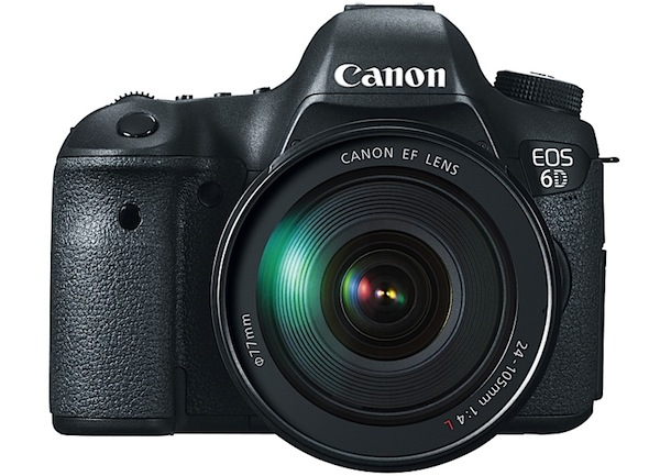 Canon unveils EOS 6D DSLR full frame sensor and WiFi for $2,099 in December