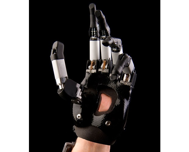 image displaying prosthetic fingers