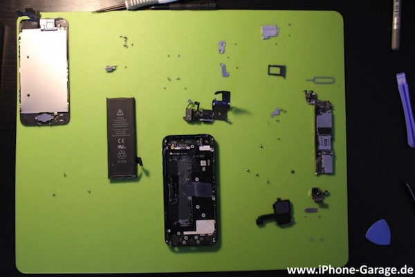 iPhone 5 gets mild teardown, reveals its precious innards