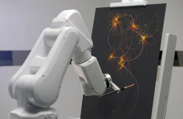 Ibis hotels to have robots paint art while they track your sleep no, that's not creepy at all video