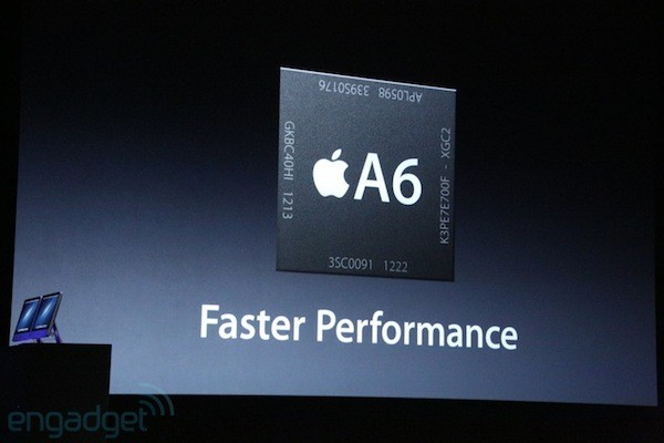 iPhone 5's A6 chip has 2x CPU power, 2x graphics performance, yet consumes less energy