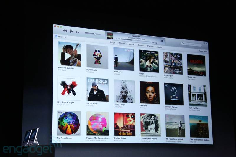 img0392 New iTunes   grid interface, mini player and more