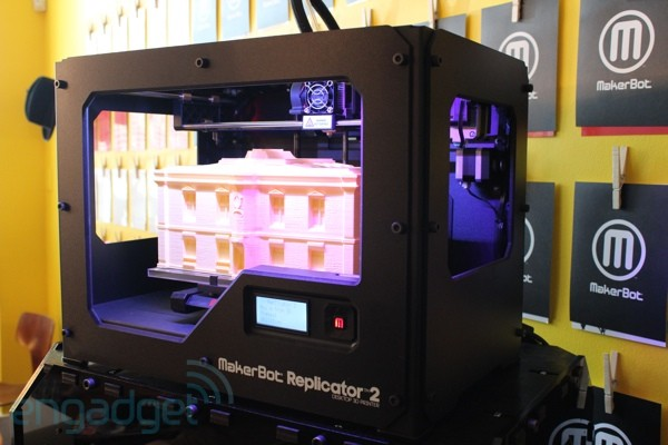 Makerbot and Adafruit selling special edition 3D printer: Raspberry Pi, other kits included