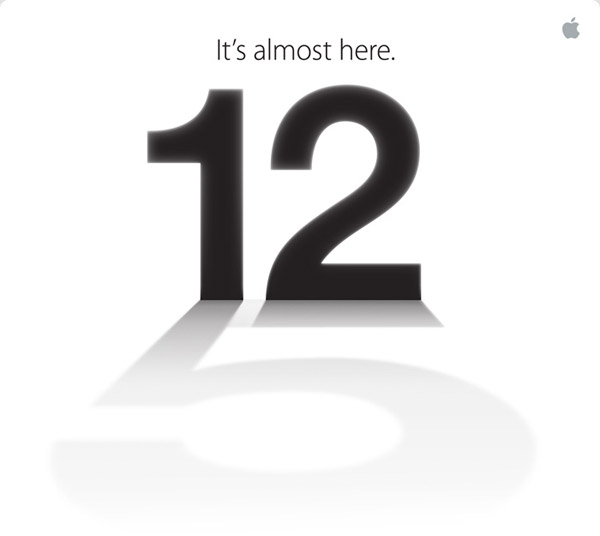 Apple Confirms: It's the iPhone 5 - Announcing this coming 12th September!