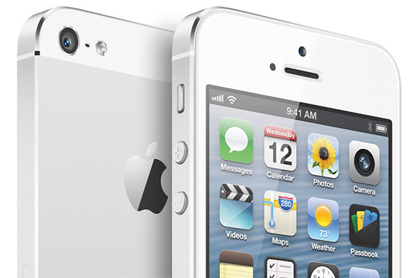 iPhone 5 officially announced with 4inch display, A6 CPU and LTE for $199 on September 21st