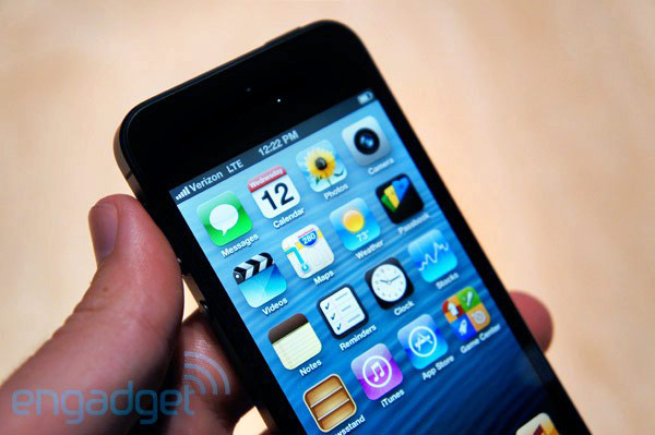 iPhone 5 hands-on Verizon