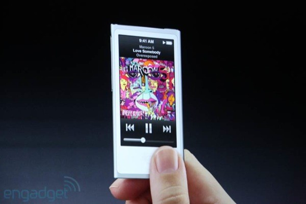 how to show battery percentage on ipod 6th gen