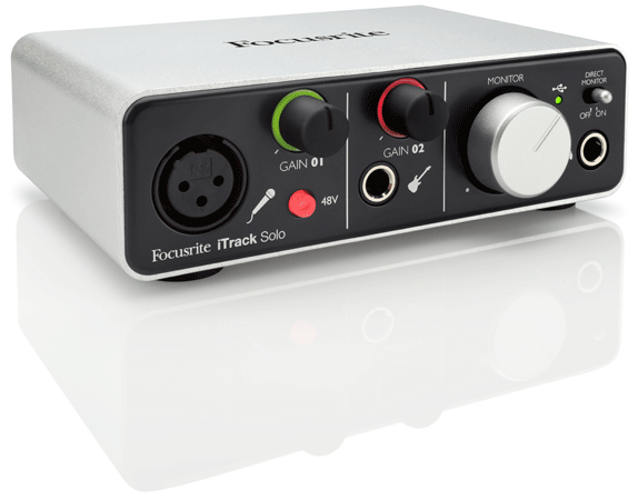 Focusrite launches iTrack Solo, a two channel interface for iOS and desktops