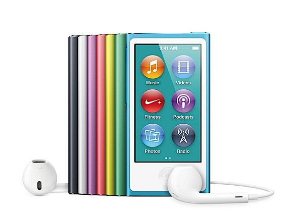 Apple outs refreshed iPod nano 25inch multitouch display, 16GB, Bluetooth, available this October for $149
