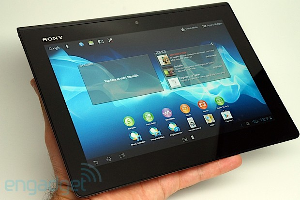 info sony xperia tablet s official sony xperia tablet s hands on sony