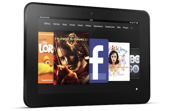 Amazon announces 7 and 89inch Kindle Fire HDs, pricing starts at $199
