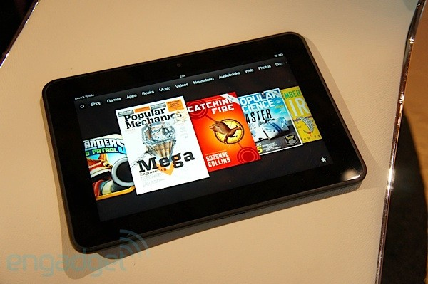 Amazon's 89inch Kindle Fire HD impressions