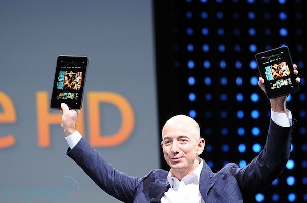 Amazon announces two Kindle Fire HDs