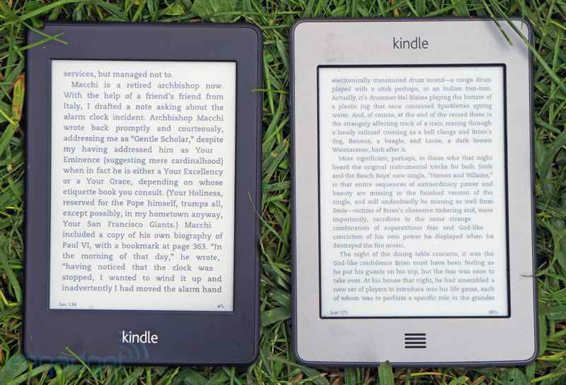 kindle paper write