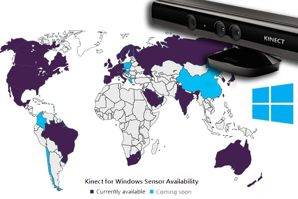 Kinect for Windows to add new features, markets