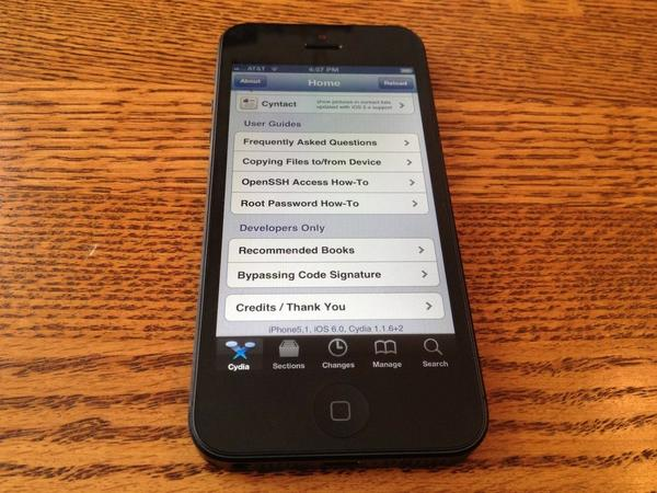 iPhone 5 jailbreak complete, owners can now set handsets