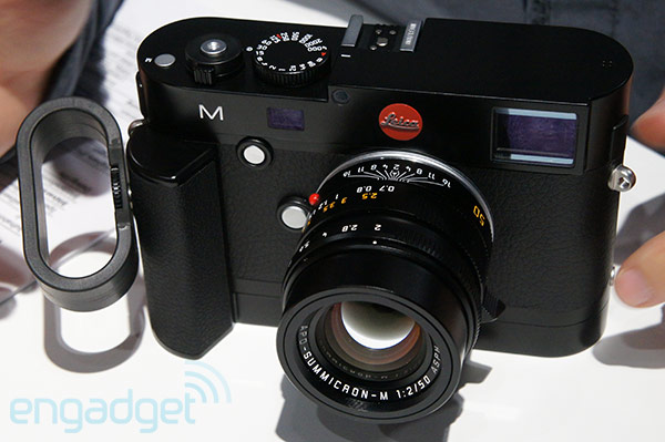New Leica M camera M10 has liveview and 1080p video capture, we go handson video