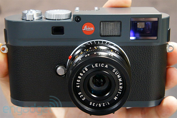 Leica ME is a $5,450 M9 with new color scheme, minor feature exclusions handson video
