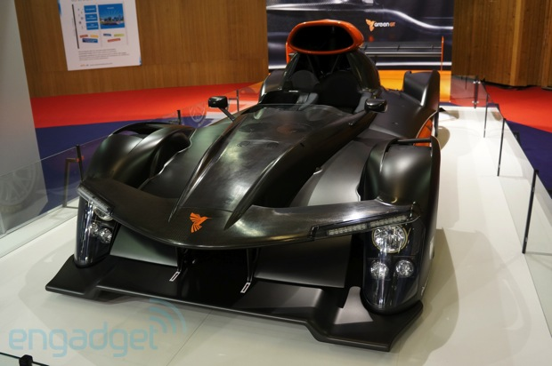 greengt h2 eyes on the first fuel cell powered racer to tackle le mans. Black Bedroom Furniture Sets. Home Design Ideas